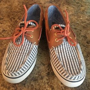 Sperry Nautical shoes.